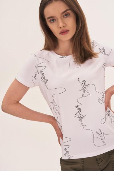 Koszulka w baletnice