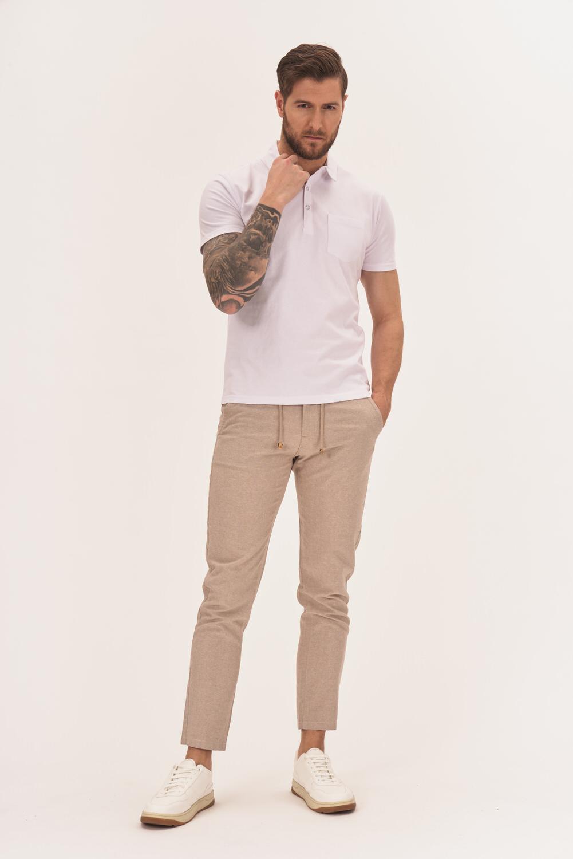 Spodnie z lnem