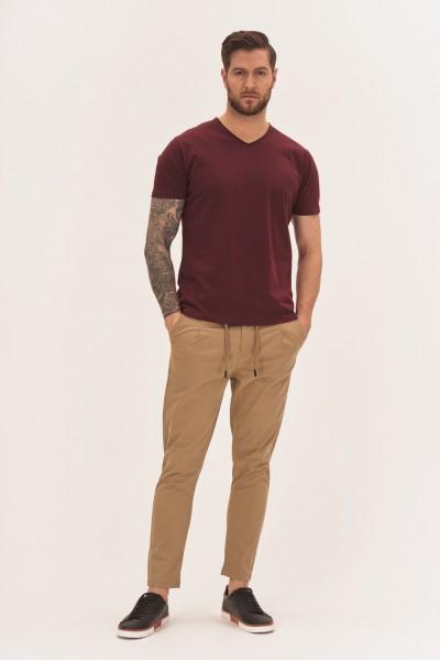 Spodnie z wiązaniem