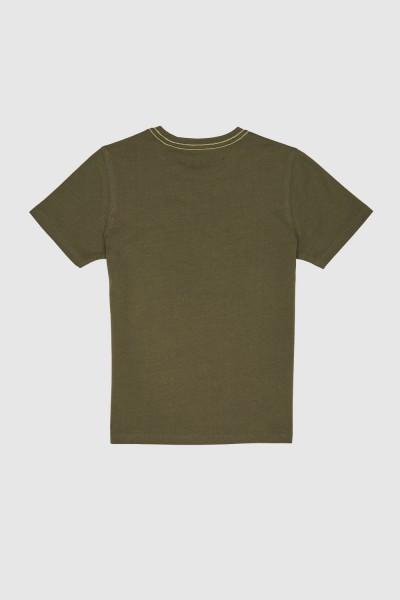 Koszulka z geometrycznym nadrukiem